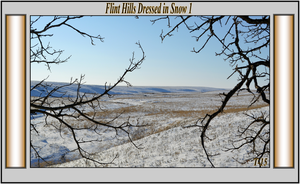 Flint Hills Dressed in Snow 1 by Taures-15