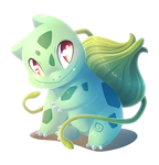 #001 : Bulbasaur by SMASH-ii