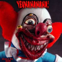 Demented Bozo Da Clown PLush 2 by Undead-Art