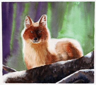 So I'm learning how to watercolor 4 by teh-yoshi