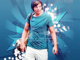 Wallpaper Louis Tomlinson by SwaggerNialler