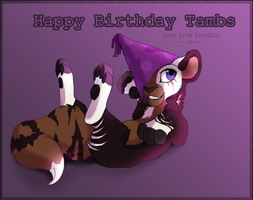 Happy Birthday Tambs by Kitchiki