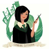 I'm a Slytherin by limori