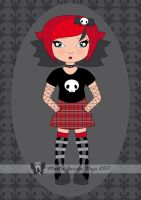 Punk Goth - Costume 01 by martagd