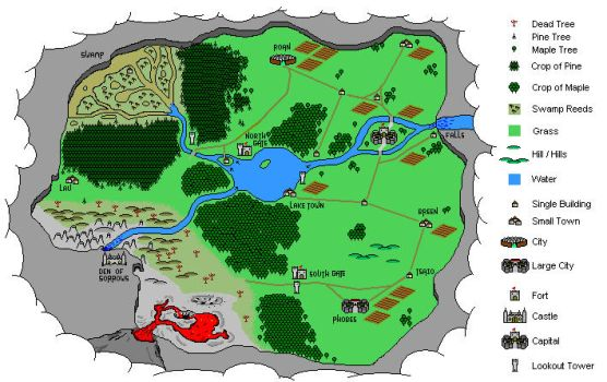 Valley Map by r3v3r53d