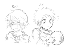 Sora y Jun by vbfrap
