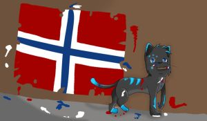:OC Icefang: 17 mai by IronMeow