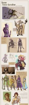 RO: (and other fantasy things) SketchDump by Dyemelikeasunset