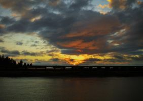 Sunset and Clouds by Marilyn958
