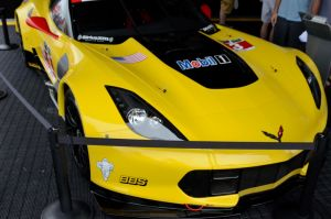 IMSA Corvette Front by lamorth-the-seeker