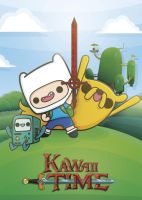 Kawaii Adventure Time by SquidPig