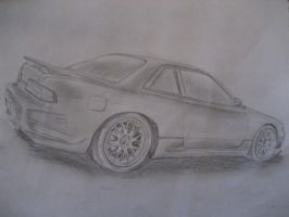 Nissan Silvia by I-Dont-Do-Art
