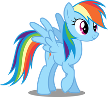 Vector #81 - Rainbow Dash #14 by DashieSparkle