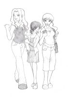 TGWTG- Iron Liz, MG, Scarlett by rainbowpunk10