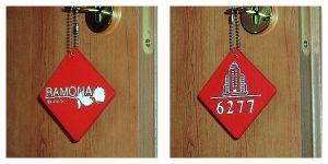 Room 6277 Keychain by blood-noir