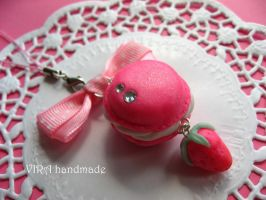 French macaroon pink by virahandmade