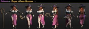 Sorceress Character Sheet 2013 by grico316