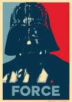 Darth Vader ''Force'' Poster by Fenceclimber
