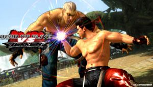 Jann Lee Vs Bryan - DOA VS Tekken by EnlightendShadow