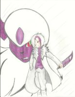 Absol gijinka by DarkPyros