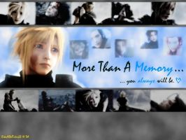+ More Than A Memory + by RikuAlbelTidus23