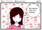 #20 The Color Whatever by AmiiaJamx