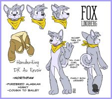 Fox Character Sheet by RickGriffin