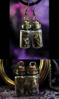 Deadly Nightshade Steampunk Jewelry #7 by DarcarinJewelry