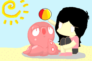 At The Beach ... by Newgrounds-People