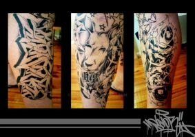 Tattoos By Snore by SEVERism