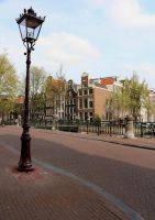 Place 323 - street of Amsterdam by Momotte2stocks