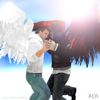AlexDes-Angel and Savior by lizathehedgehog