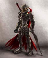 Armored Lionoid by SeawolfPaul