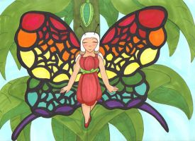 Butterfly Girl by Oogies-wife67