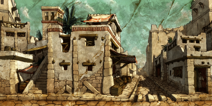 Punic Streets by LordGood