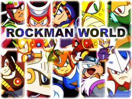 Rockman World by Cuckooguy
