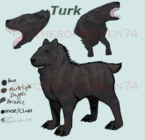 Karyl Design- Turk the 'Tank' by patchesofheaven74
