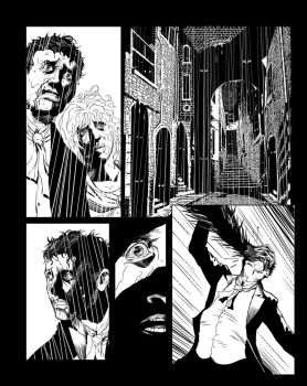 Casefile: Arkham pg 4 - blind alley by PatrickMcEvoy