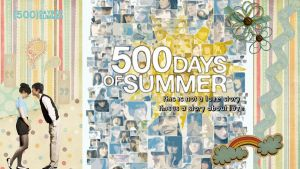 500 Days of Summer Wallpaper by riartha