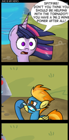.Comic 15: She Is My Hero. by ZSparkonequus
