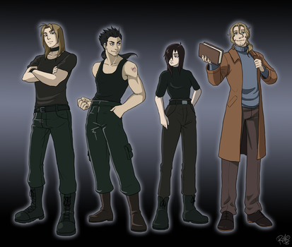 FMA OCs ref sheet by Riiko96