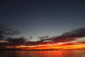 Fall Sunset Series #101 by LifeThroughALens84