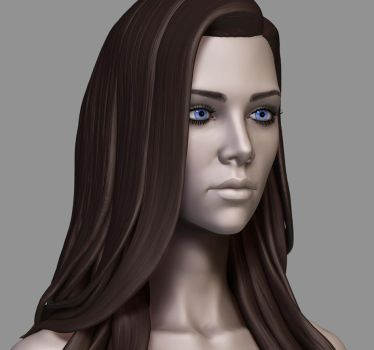 Anllela Face 3QtrFront R WIP by EtherealProject