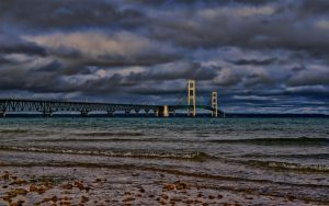 mackinac bridge 2011 by eddyhaze