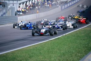 1997 Austrian Grand Prix Start by F1-history