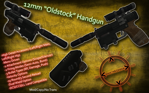 12mm 'Oldstock' Pistol by Josh1knight
