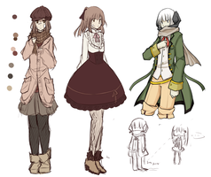 MAGE: outfits and more school uniforms by hinarytea