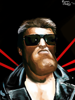 The Terminator Caricature by rcrosby93