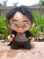 Harry Potter Munny Figure by Stephy-Sama