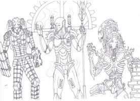 Iron God and friends by savagehenry89